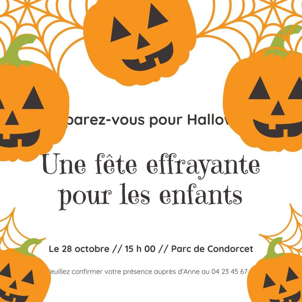 Halloween-Enfants-Fete-Invitation