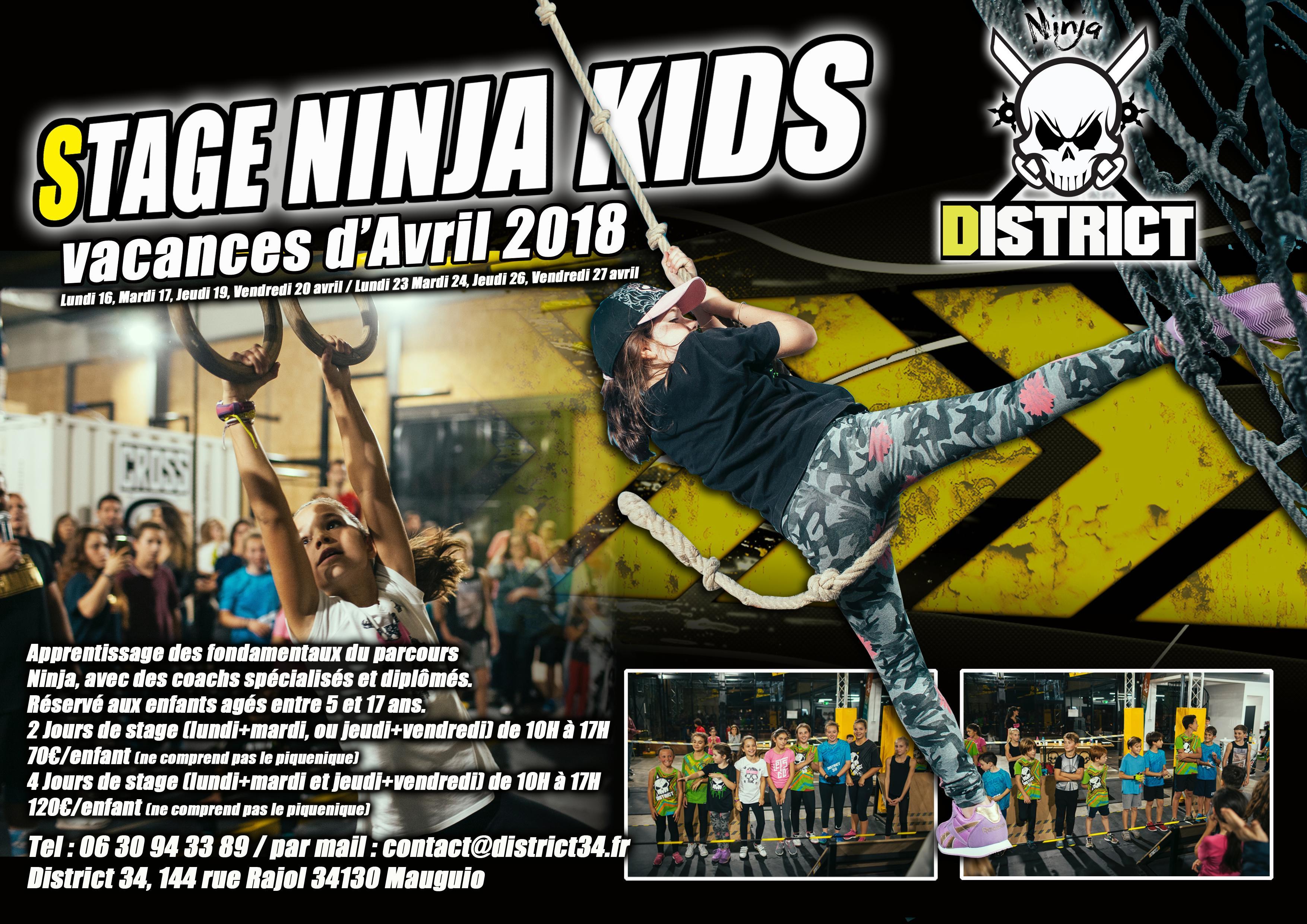 Stage Ninja Kids Pâques