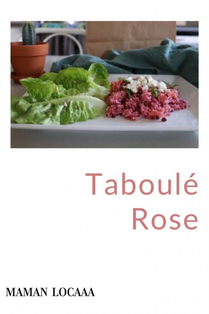 taboulé-rose
