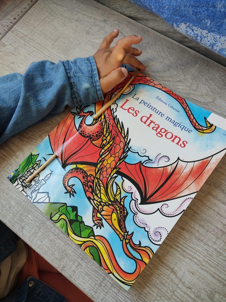 les-dragons-peinture-magique